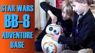 Star Wars Galactic Heroes BB-8 Adventure Base by Playskool - SuperTwins TV Toy Review