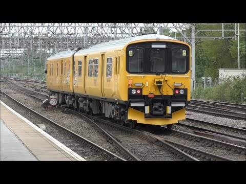 Busy Afternoon at Crewe Station, 4K! | 06/05/17