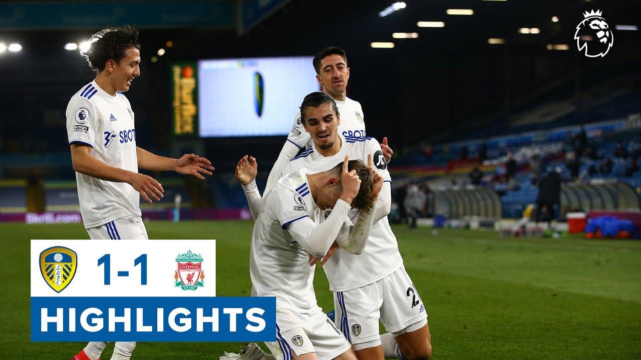 Leeds United Vs Liverpool Highlights 2021 EPL Week 32