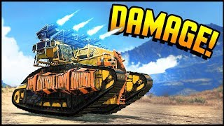 Crossout - The Damage Is Real! I Like These (Crossout Gameplay)