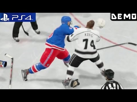 NHL 15 - Gameplay Demo NY Rangers vs. Los Angeles PS4 1080p part 2 (GodGamesHD)