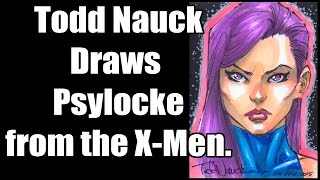 Todd Nauck Draws the X-Men