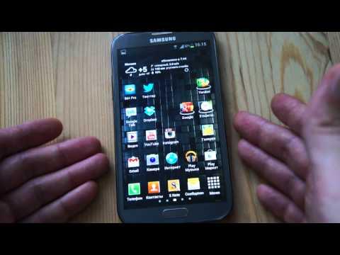 Обзор Samsung Galaxy Note II: первые впечатления, экран, железо