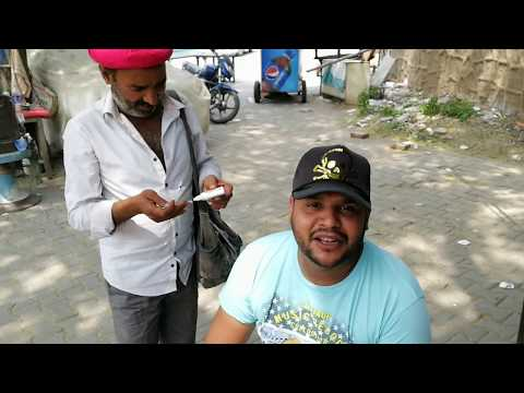 Roadside Ear Wax Cleaning | Traditional Ear Cleaner in INDIA