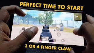 3 and 4 Finger Claw Handcam Basics [PUBG mobile]