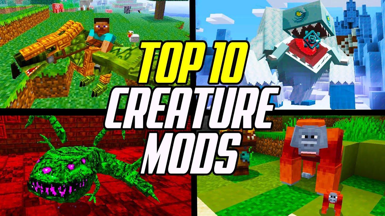 Top 8 Minecraft Mobs & Creature Mods