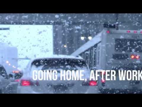 Office to home drive  Detroit Winter 2015