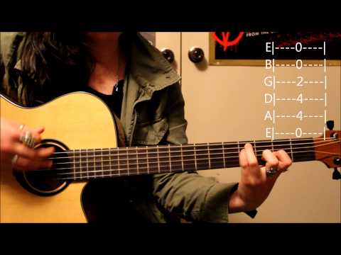 Lights Timing Is Everything Guitar Tutorial