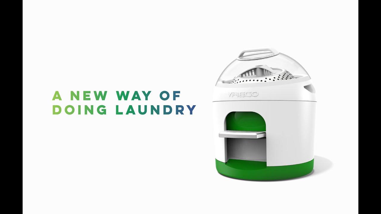 Drumi World S Favourite Foot Powered Washing Machine