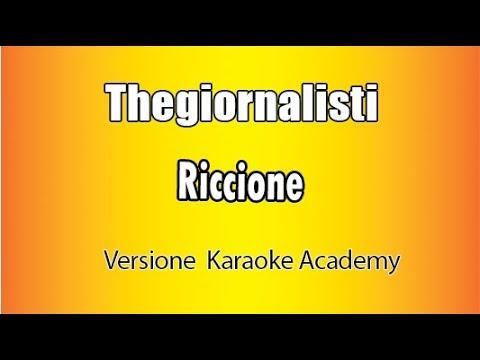 Thegiornalisti - Riccione (Karaoke Italiano)