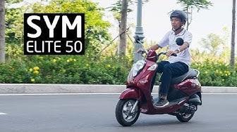 Trải nghiệm SYM Elite 50: chiếc xe nhẹ nhàng cho đô thị, phù hợp với học sinh, nữ giới