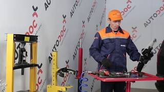 Монтаж на преден десен Колесен цилиндър на OPEL ZAFIRA A (F75_): безплатно видео