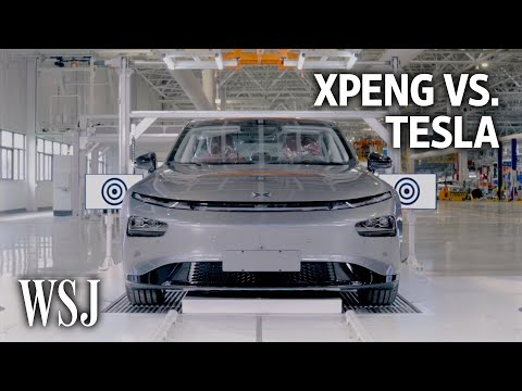 XPeng vs. Tesla: The Race for the Best EV Tech | WSJ