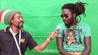 Videointerview, Jah Bouks @ Reggae Jam 2014, 01.-03.08. Bersenbrück
