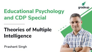 Multiple intelligence for DSSSB CTET UPTET | Educational Psychology and CDP | Gradeup