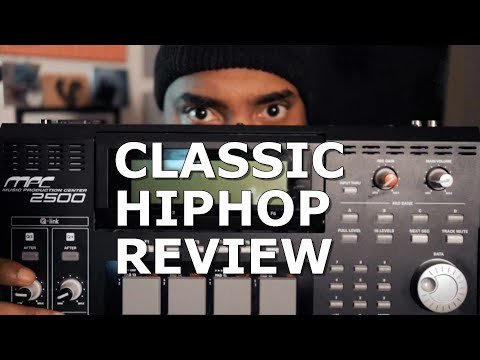 AKAI MPC2500! Classic Hiphop Producer Review!