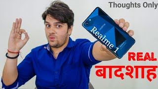 Oppo RealMe 1 : The Real Killer !! (My Thoughts In Hindi)