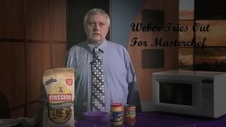 Weber Cooks tries out for masterchef (Sad Music)