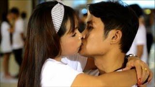 انطلاق مسابقة اطول قبلة في العالم في تايلاند