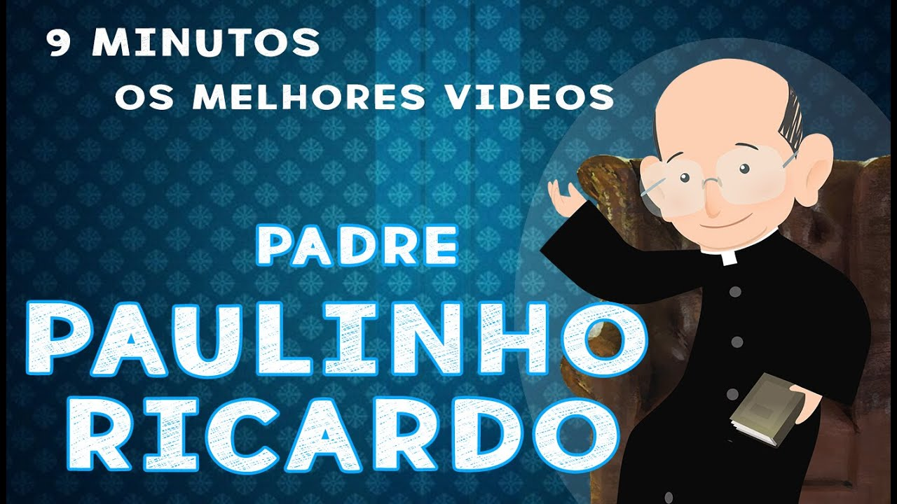 Os melhores vídeos do padre Paulinho Ricardo- para acalmar e edificar |Arte Piedosa