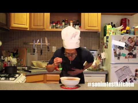 Sonim Test Kitchen Ep. 1 - How To Make Sonim Noodles