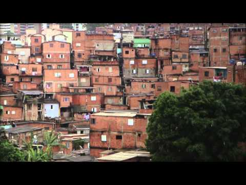 Flavio Pimienta teaches children in Sao Paulo's slums