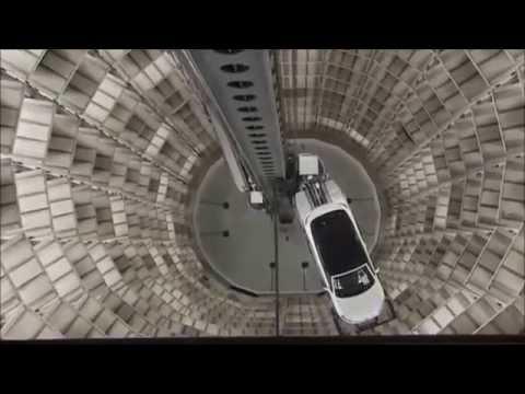 Inside The VW Autostadt in Wolfsburg; Germany