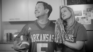 SEC Shorts - Arkansas fan goes through It's a Wonderful Life