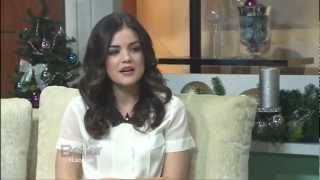 LUCY HALE - 23 - SINGER / ACTRESS - INTERVIEW - 2012