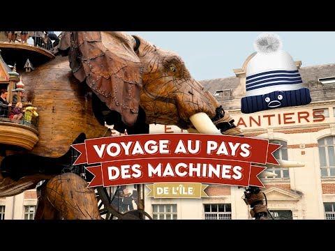 🐘 Voyage merveilleux au pays des Machines de l'île - Nantes - 🇫🇷 FR 01