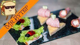 ТОП - 3 Бутерброды на праздничный стол для детей
