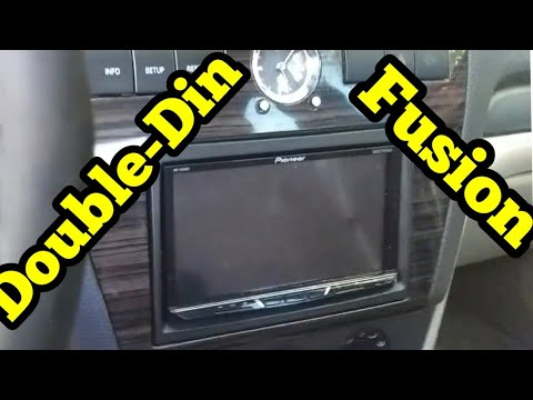 2006-2009 Ford Fusion Double Din (Pioneer AVH-2300NEX) And Back-Up Camera Install