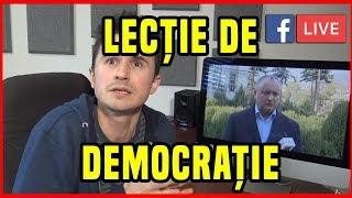 MITROPOLITUL și DEMOCRAȚIA   LIVE pe Facebook