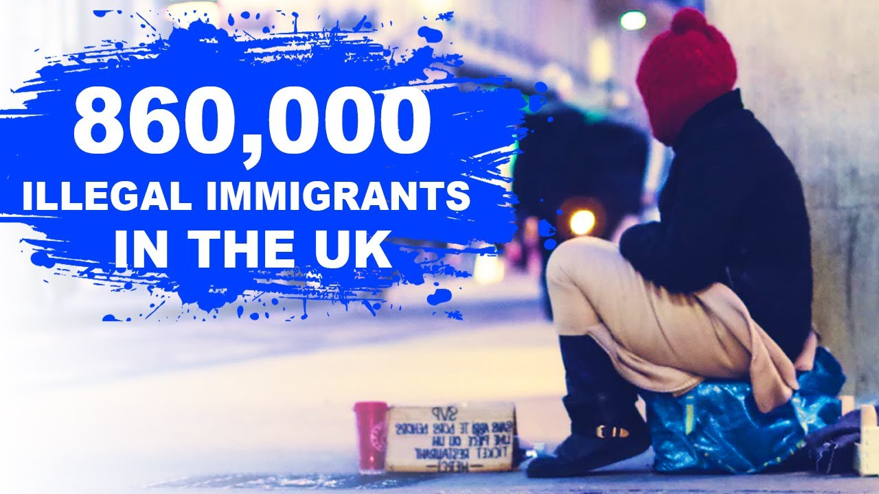 ILLEGAL IMMIGRANTS IN THE UK : REPORT - YouTube