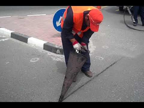 Sealant Application with Cone, Marathon Kettle UCMK 245DT