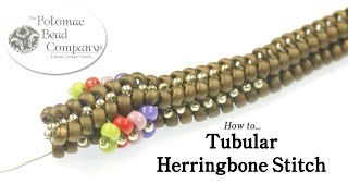 How to - Tubular Herringbone Stitch