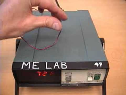 thermocouple lab report