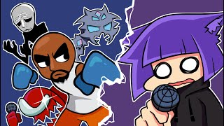 Rhythm game veteran vs. Imposter, Trollge, Matt WiiK 3 & MORE! (Friday Night Funkin Mods)