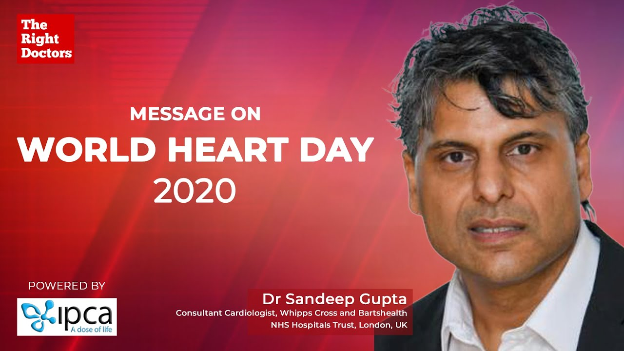 World Heart Day | Don't Wait for a Heart Attack to Change your Lifestyle | Dr. Sandeep Gupta