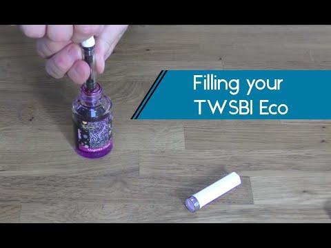 Filling your TWSBI Eco