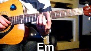 К. Никольский - Мой друг художник и поэт - Тональность ( Еm ) Как играть на гитаре песню