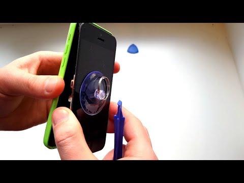 IPhone 5C сел аккумулятор/ Купила новый/ Замена аккумулятора в IPhone 5C/ Часть 2/2.