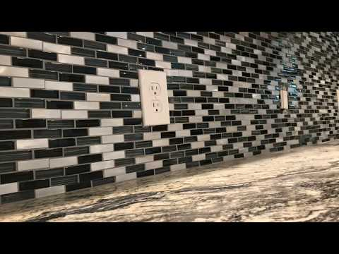 How to Install Backsplash Glass Tile
