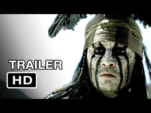 The Lone Ranger Official Trailer #2 (2012) - Johnny Depp Mov