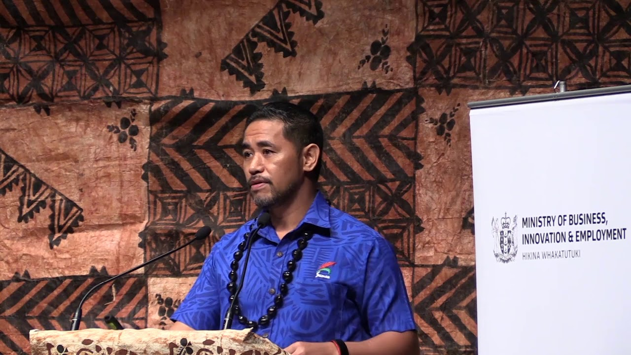 MBIE Digital Moana: Keynote Speaker Fa'aso'otauoa  Sam Saili - CEO Skyeye Pacific