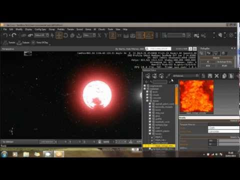 Cryengine 3  - PLANET Creation And Suns - Tutorial Demo