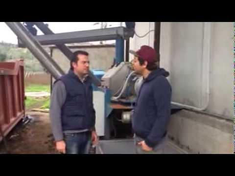 Oleificio Iannotta Benevento intervista su separatore sansa Clemente