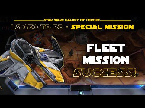 Phase 3 Fleet Special Mission - LS Geo TB | SWGOH