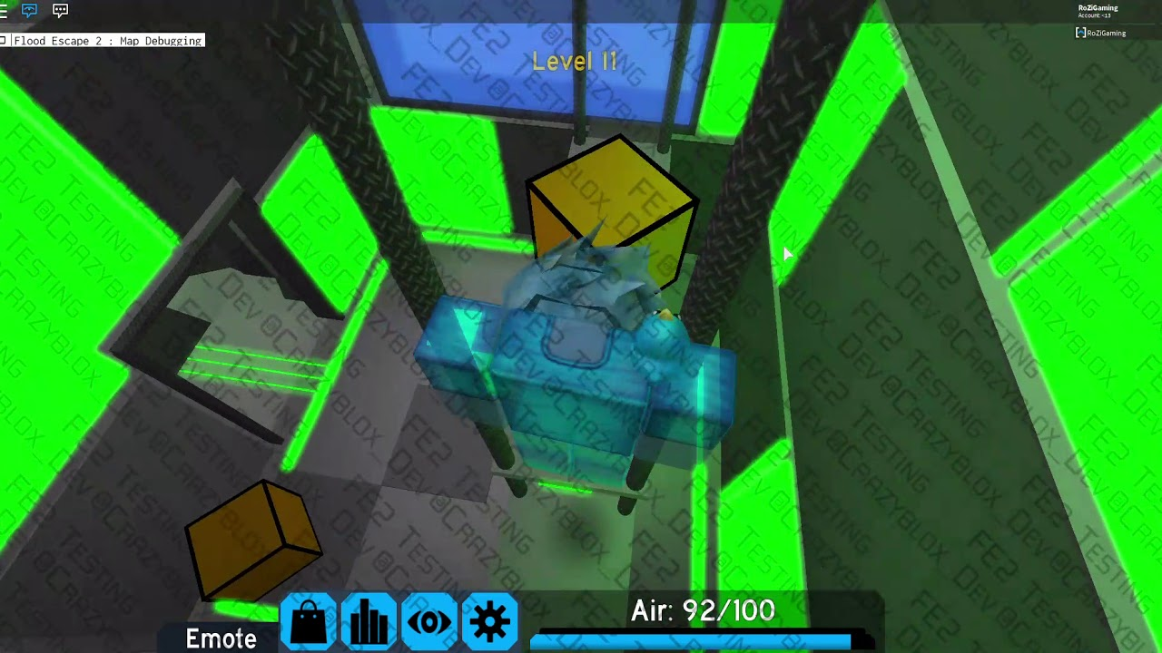 Roblox Flood Escape 2 Toy Code Testing All Emotes On Flood Escape 2 Roblox Youtube Easy Anti Cheat Fortnite Problem With Graphic Card