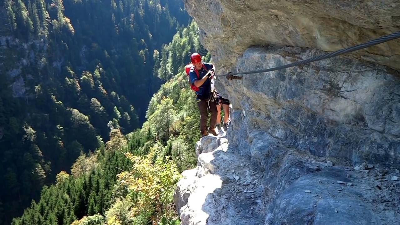 Klettersteig Postalm : Klettertour postalm klettersteig d strobl am wolfgangsee
